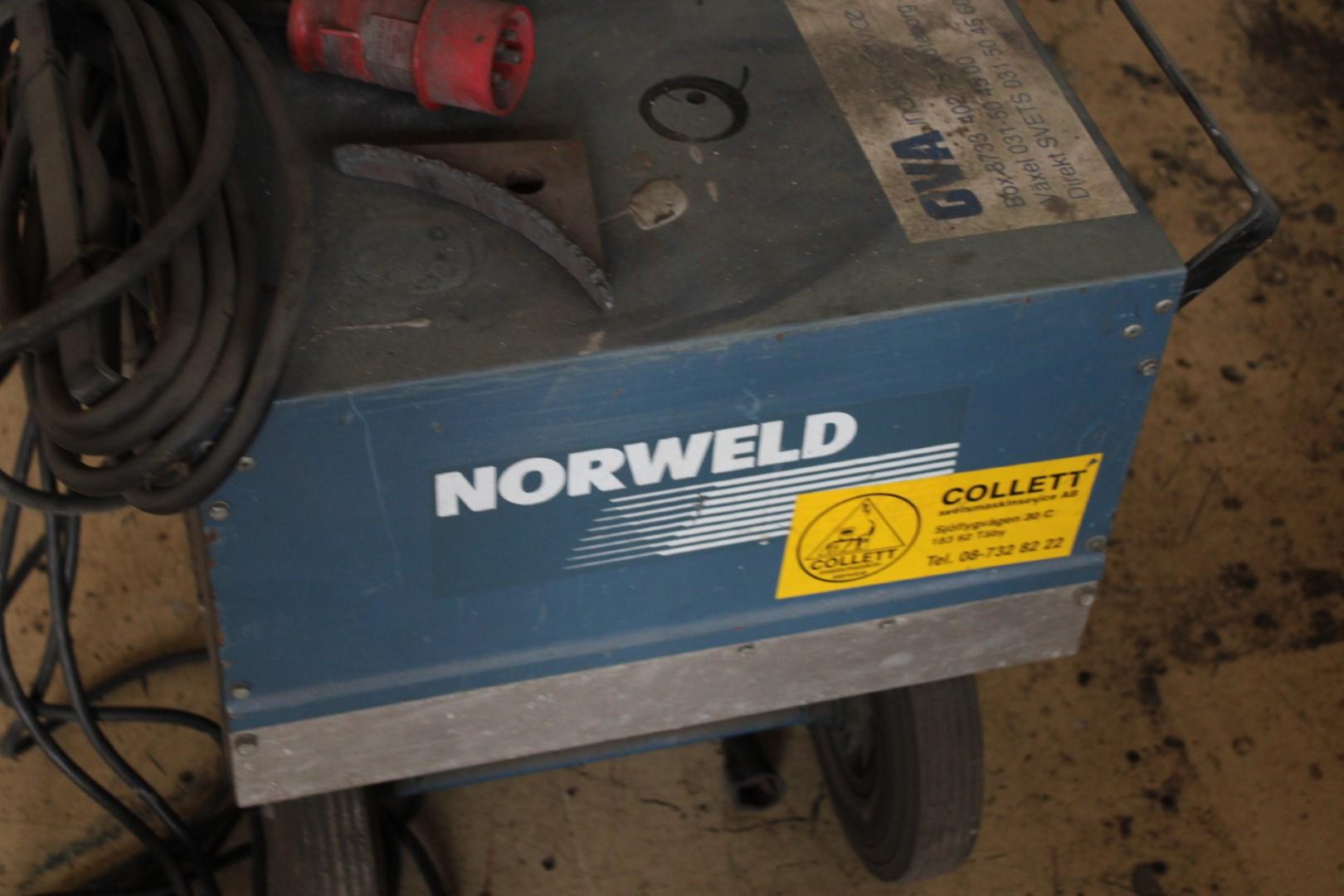 Kända TIG-svets Norweld TIG 182 - PS Auction – Vi värderar framtiden XC-42