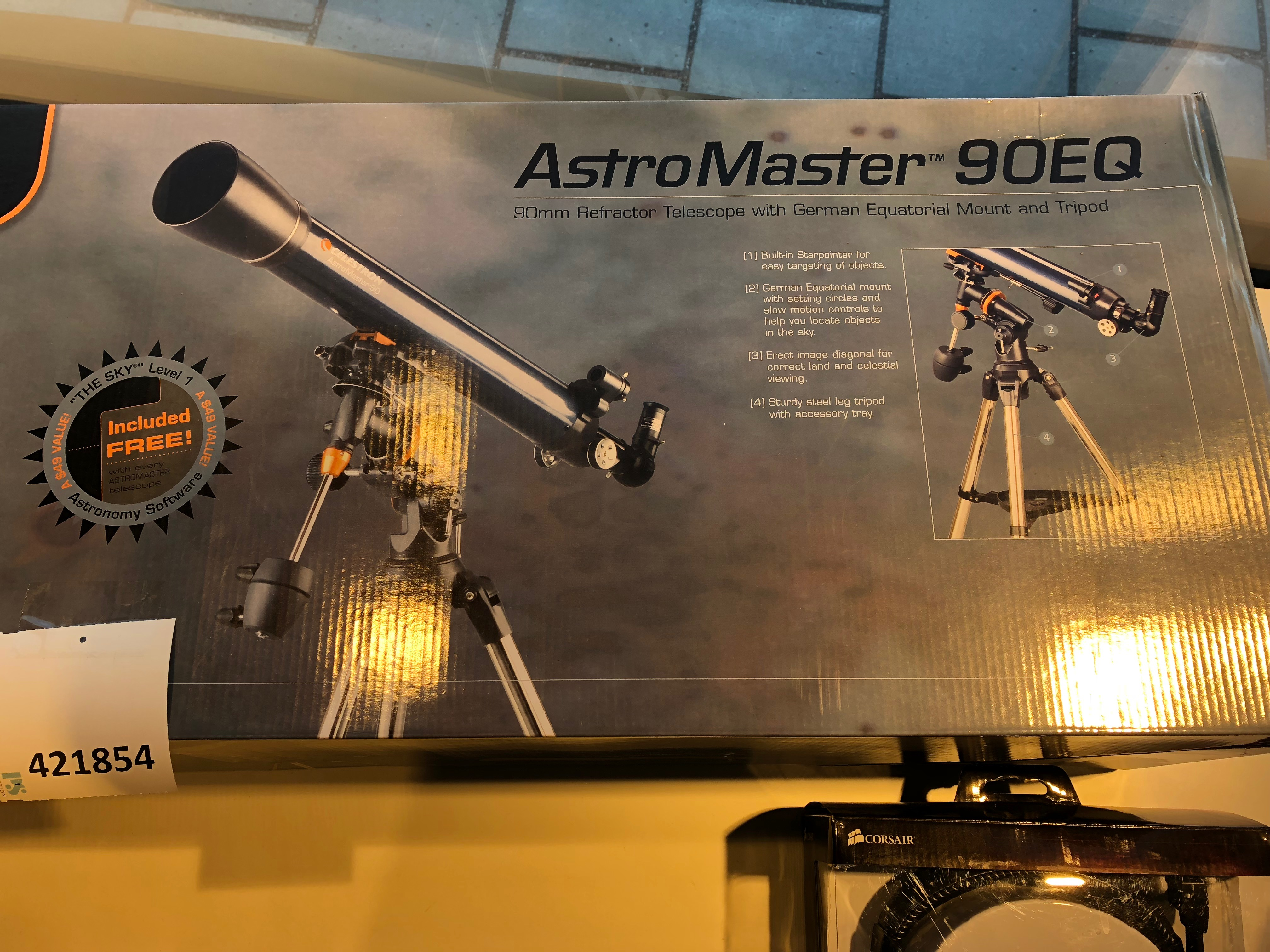 Telescope astromaster eq ps auction
