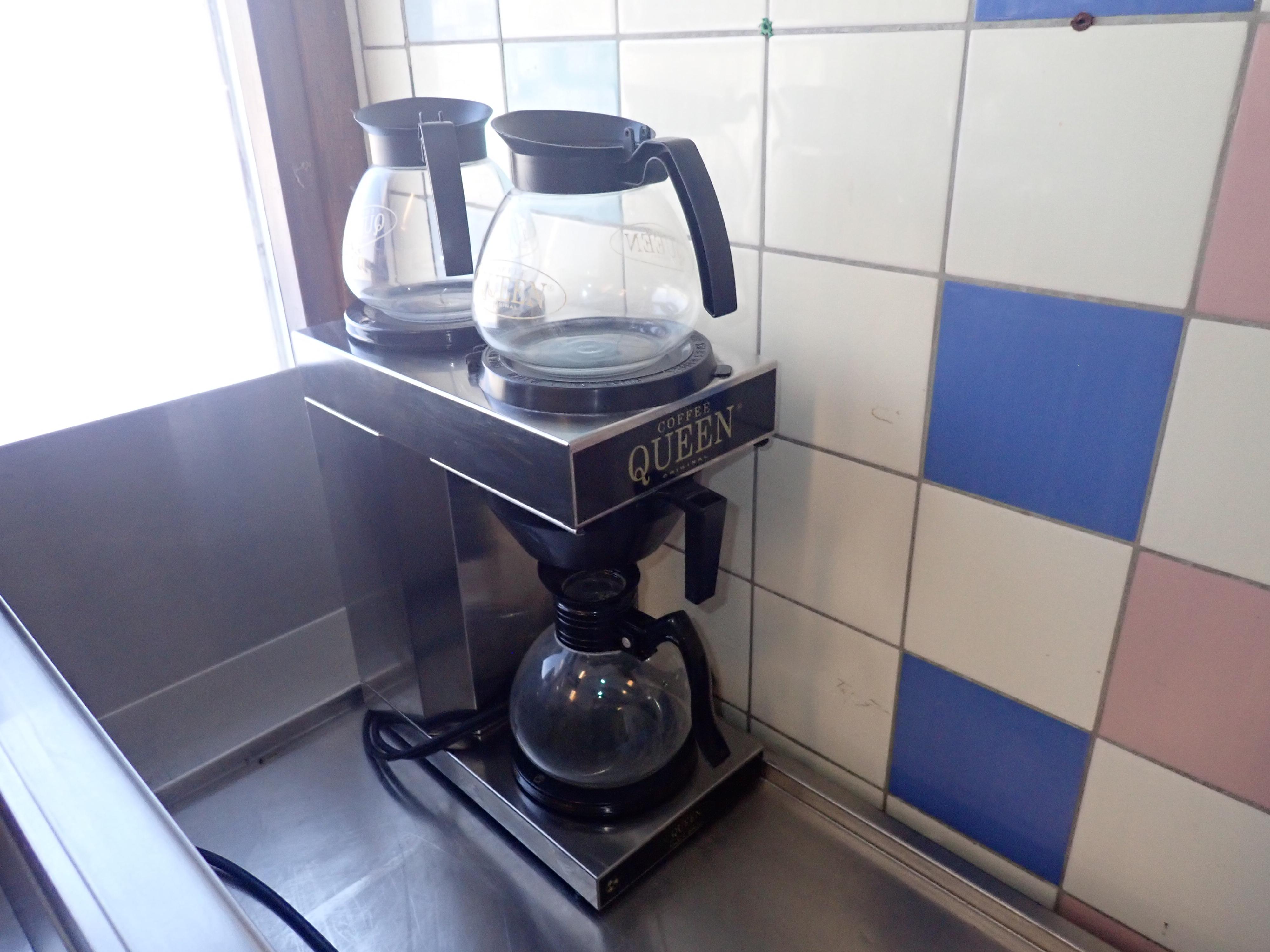 Dubbel kaffebryggare Coffee queen Nätauktioner
