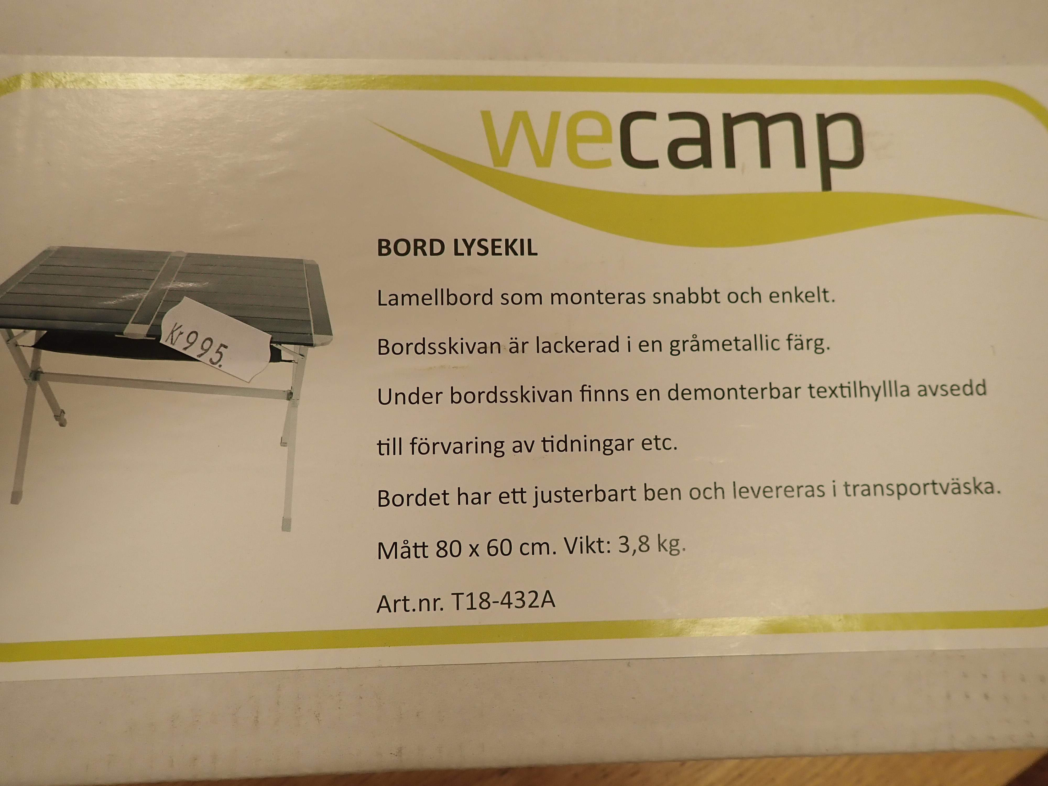 WeCamp Lysekil 2, 80x60 cm