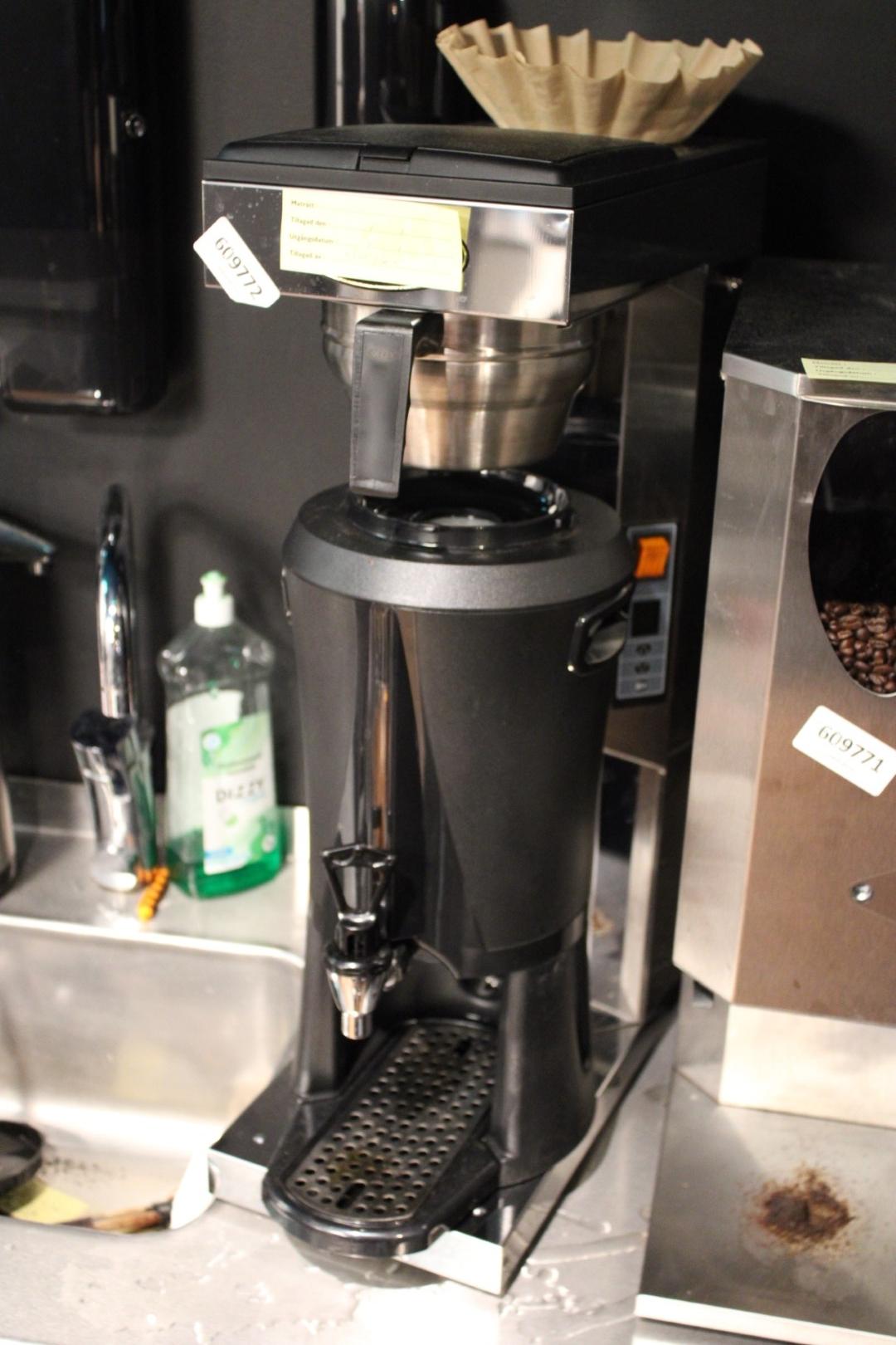 Kaffebryggare termosbryggare Coffe Queen CQ Mega Gold A med