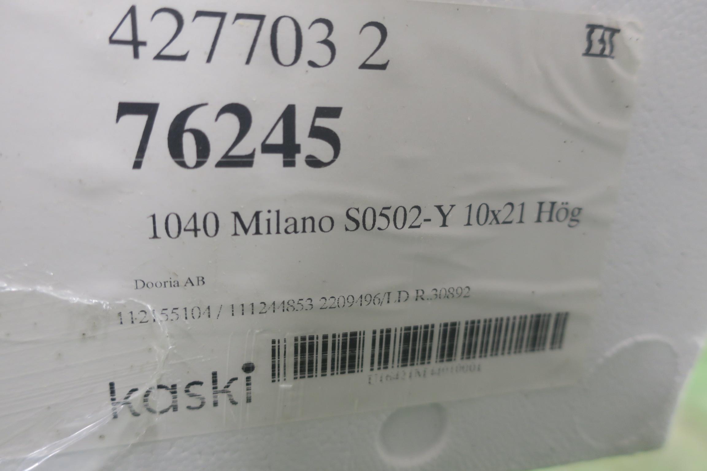 Dooria Milano 10/21 & Dooria Milano 10/21 - PS Auction