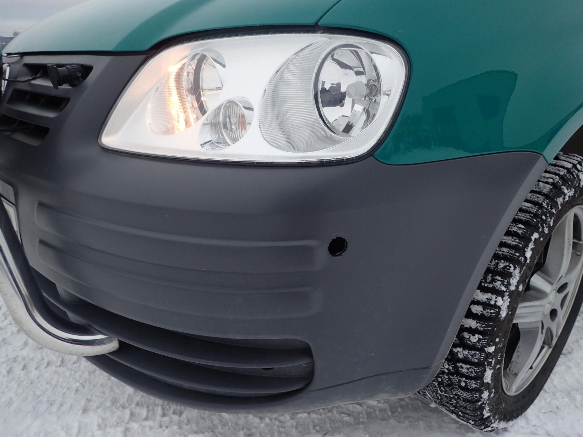 VW Caddy Maxi Skåp Bensin/Gas -10 Reg Nr: BKT930 Med