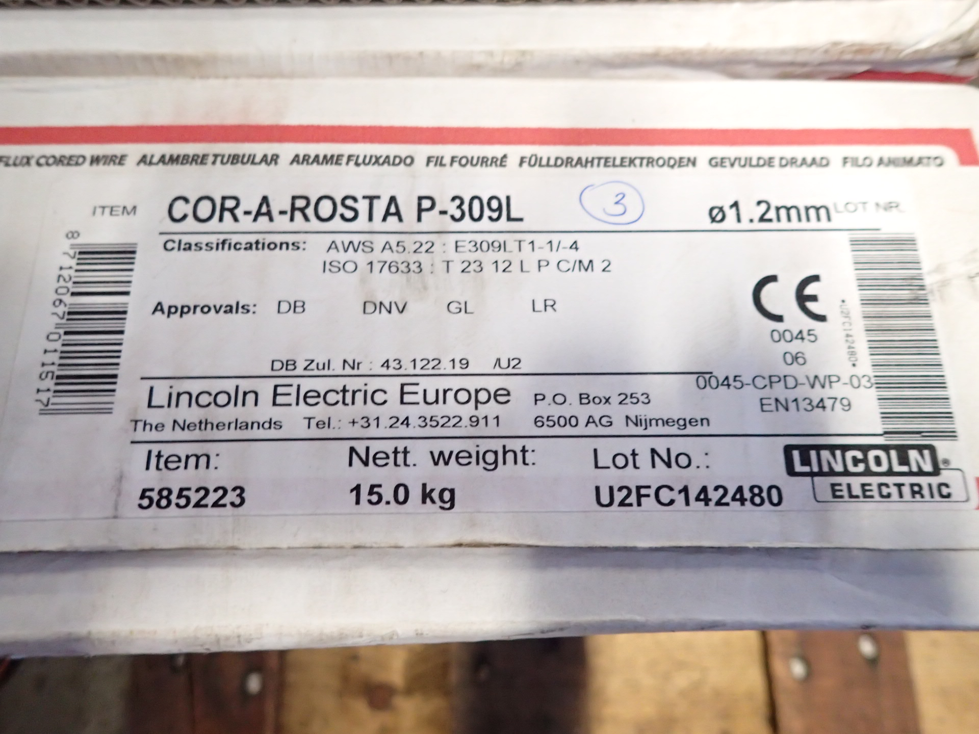 Welding wire for Migsvets - PS Auction
