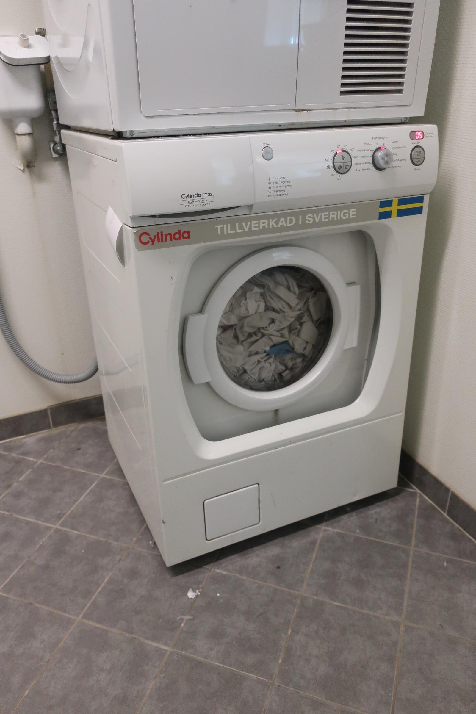 Tvättmaskin, Cylinda FT22 Nätauktioner & Konkursauktioner