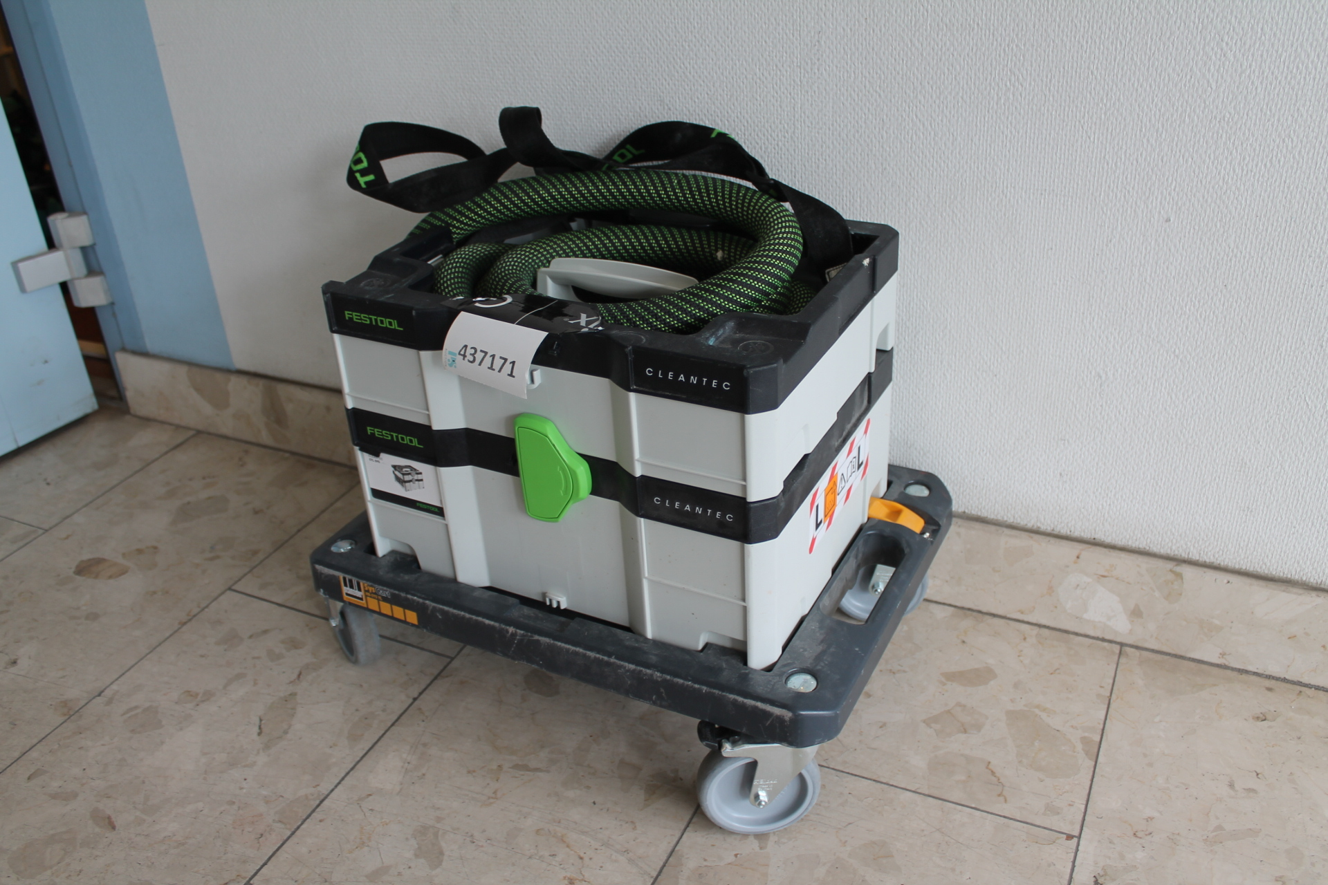 Dammsugare CTL SYS CLEANTEC Festool med Schneider Wheel