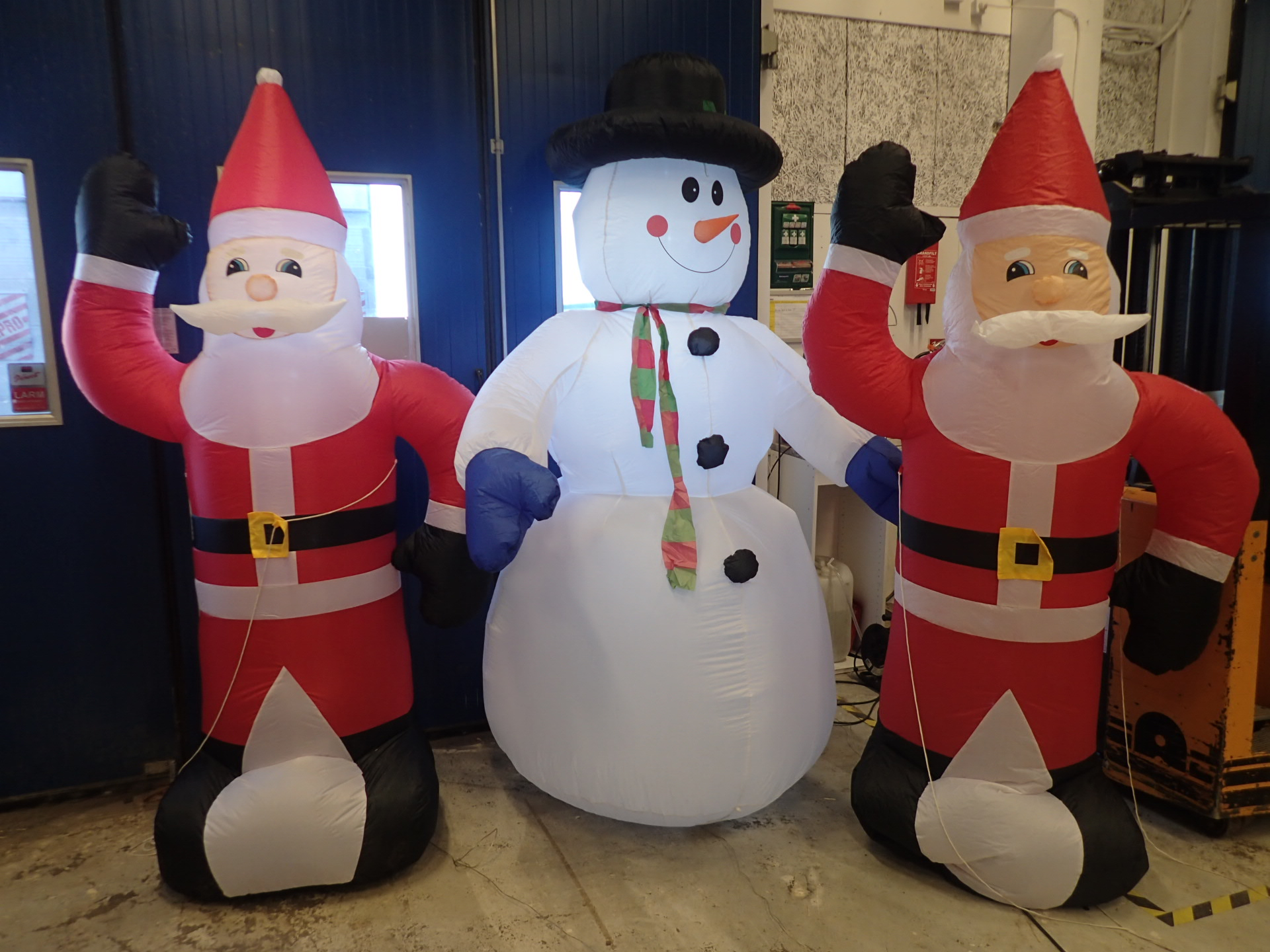 3st large inflatable christmas decorations