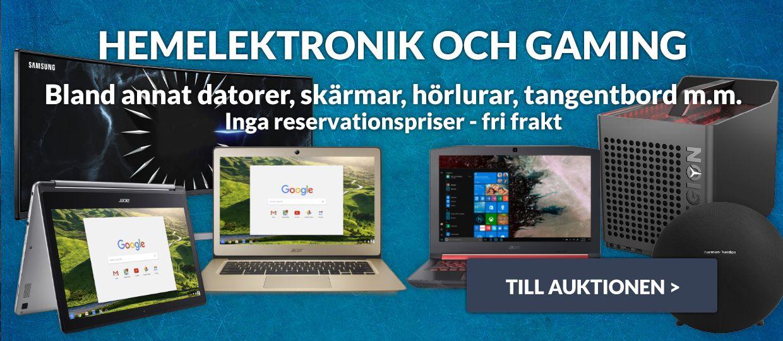 Utförsäljning hemelektronik & gaming