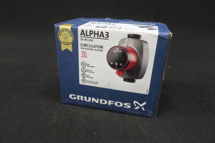 GRUNDFOS Alpha3 25-40 130 Modell A Pumpe